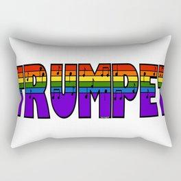 Rainbow Trumpet Rectangular Pillow
