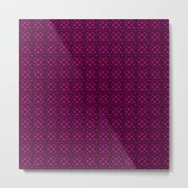 pp purple Metal Print
