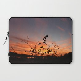 Flowers in the Sunset Laptop Sleeve