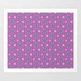 Perpetual Pinkness Art Print