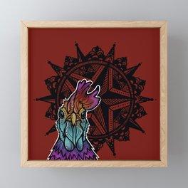 Rooster-Catalyst Ranch Framed Mini Art Print