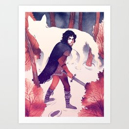 North of the Wall Art Print