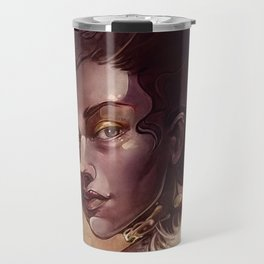 golden angel Travel Mug