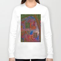 colombia Long Sleeve T-shirts featuring MAGIC HOUSE BOGOTA COLOMBIA by Alejandra Triana Muñoz (Alejandra Sweet