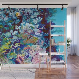 The Barrier Reef, AUSTRALIA               by Kay Lipton Wall Mural
