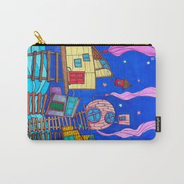 Tipsy Houses I Carry-All Pouch