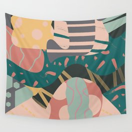 Tribal pastels Wall Tapestry