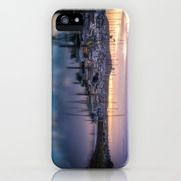 Nature's Hues Sunset at Half Moon Bay iPhone Case