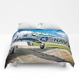 US Navy Airplane Comforters