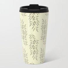 Linen Leaves Travel Mug