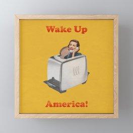 Wake Up Call Framed Mini Art Print