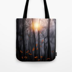 Feather dance (orange) Tote Bag