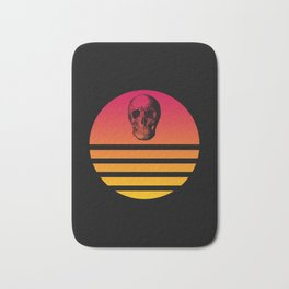 Classic Retro Design Skull #6 Bath Mat