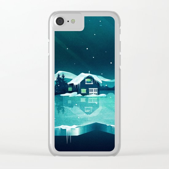 Frozen Magic Clear iPhone Case