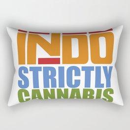 """STRICTLYANNABIS"" Rectangular Pillow"