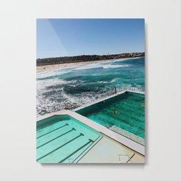 'bergs Metal Print