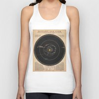 solar system Tank Tops featuring Solar System by Le petit Archiviste