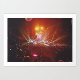 Concert Art Print