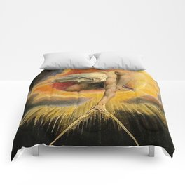 The Ancient Of Days Painting William Blake Comforters