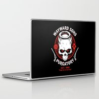 sons of anarchy Laptop & iPad Skins featuring Wayward Sons by Manny Peters Art & Design