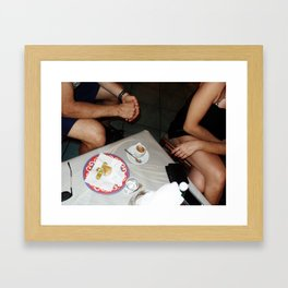 Coffee Table Framed Art Print