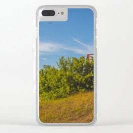 Stephens Bridge, North Dakota, 2 Clear iPhone Case