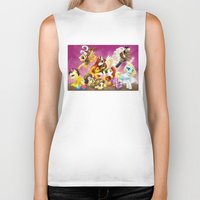 mlp Biker Tanks featuring MLP X-Women by Kimball Gray