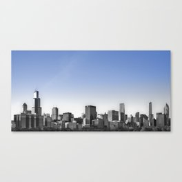 Blue Sky Chicago Canvas Print