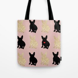 Dazzling French Bulldogs Tote Bag