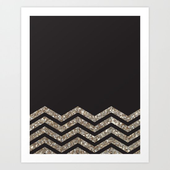 Sparkle Motion  Art Print