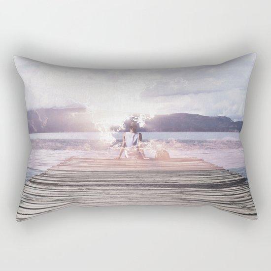 Drifting Thoughts Rectangular Pillow