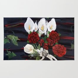 Lillies ad Roses Rug