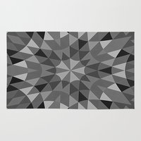 gray pattern Area & Throw Rugs featuring Gray Pattern by 2sweet4words Designs