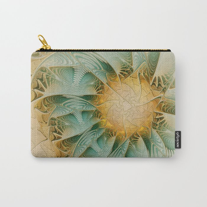 Fractal Fantasy Carry-All Pouch