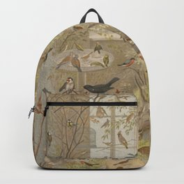 Antique Aviary Backpack