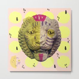 the lion pop Metal Print