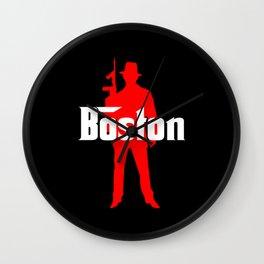 Boston mafia Wall Clock