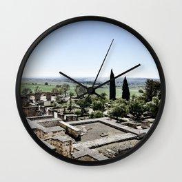 Medina Azahara of Cordoba Wall Clock