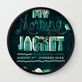 My Morning Jacket Wall Clock
