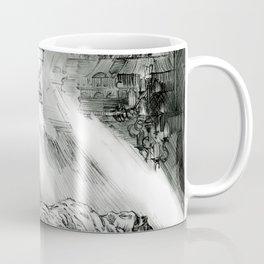 Frankestein - based on the wonderful work of Bernie Wrightson  Coffee Mug