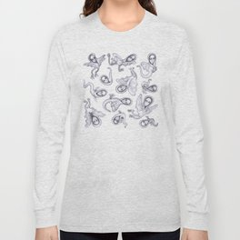 cute quirky witches Long Sleeve T-shirt