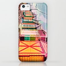 Painted Beach Huts Slim Case iPhone 5c