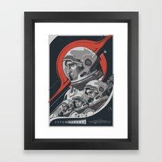 Interstellar - Movie Poster Framed Art Print
