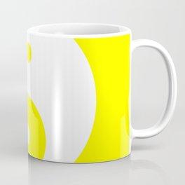 Yin & Yang (White & Yellow) Coffee Mug