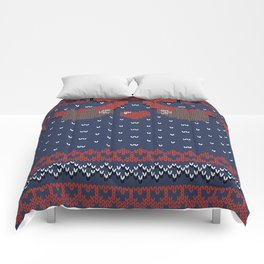 A Lazy Winter Sweater Comforters