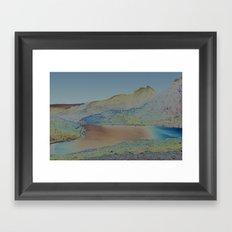 Chromascape 16: Snowdon Framed Art Print
