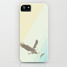 Eagle & Fish iPhone Case