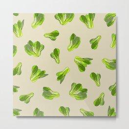 Bok Choy Vegetable Metal Print