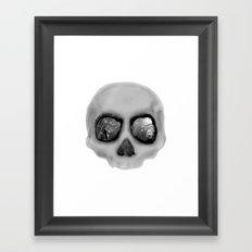 sleeping less every night Framed Art Print