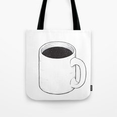Space coffee Tote Bag